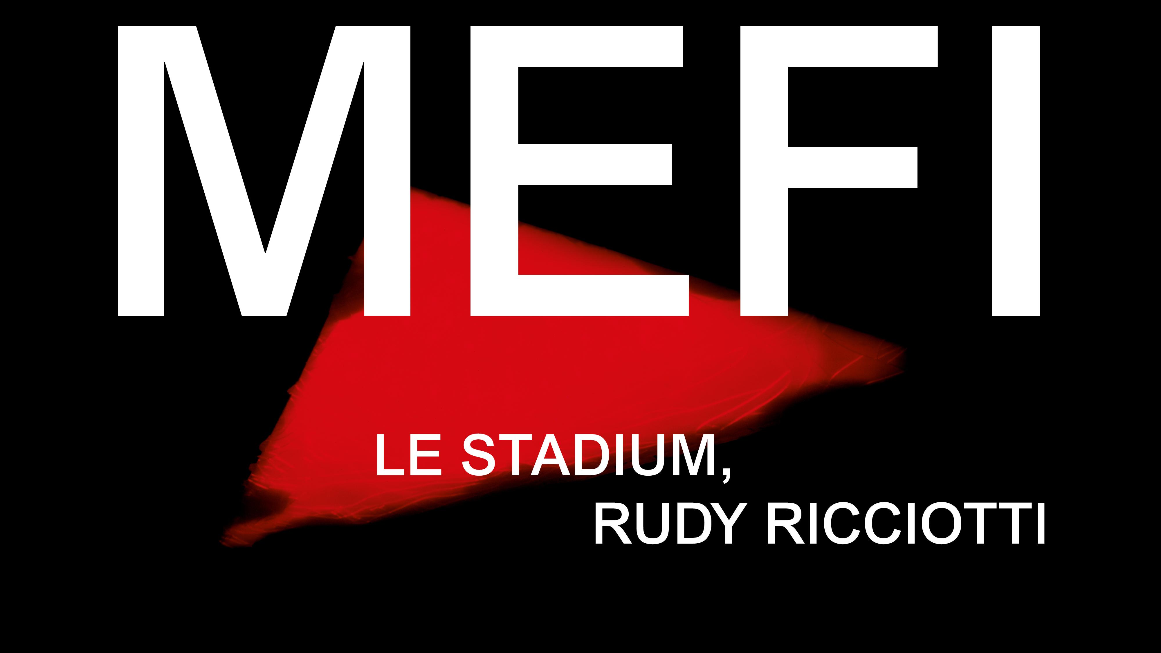 Exposition MEFI LES STADIUM RUDY RICCIOTTI
